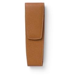 Stecketui GvFC für 2 Schreibgeräte braun genarbtes Leder Faber Castell 118822 Produktbild