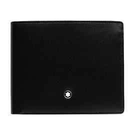 Brieftasche Meisterstück schwarz Leder 10cc Montblanc 05524 Produktbild