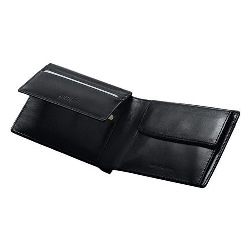 Brieftasche Meisterstück schwarz Leder 10cc Montblanc 05524 Produktbild Additional View 1 L