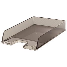 Briefkorb Europost für A4 243x332x57mm grau transparent kunststoff Esselte 623604 Produktbild