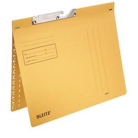 Pendelhefter kaufmännische Heftung 250g gelb Manilakarton Leitz 2014-00-15 Produktbild