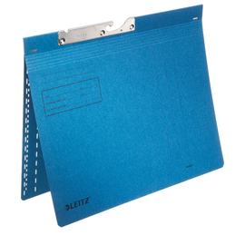 Pendelhefter kaufmännische Heftung 250g blau Manilakarton Leitz 2014-00-35 Produktbild