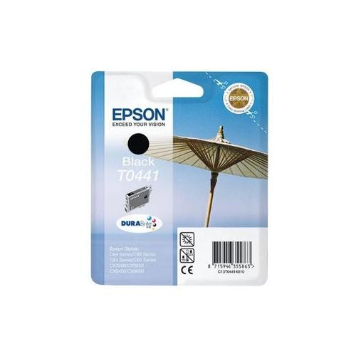 Tintenpatrone T0441 für Epson Stylus C86/CX6400 13ml schwarz Epson T044140 Produktbild Front View L
