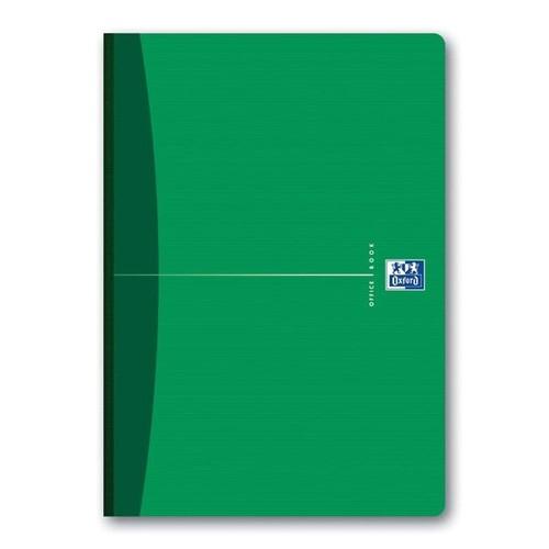 Broschiertes Buch Oxford Office A4 kariert 96Blatt 90g Optik Paper weiß 100100923 Produktbild Additional View 2 L
