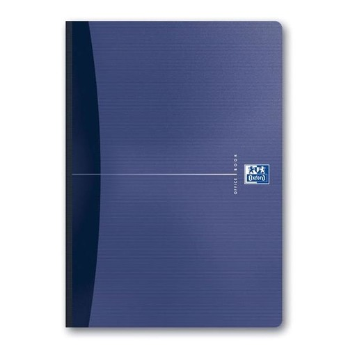 Broschiertes Buch Oxford Office A4 kariert 96Blatt 90g Optik Paper weiß 100100923 Produktbild Additional View 3 L