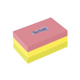 Haftnotizen Tartan Notes 127x76mm neonfarben Papier 3M 12776N (PACK=6x 100 BLATT) Produktbild