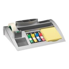 Tisch-Organizer Post-it + 5 Haftstreifen und Magicfilm silber 3M C50 Produktbild