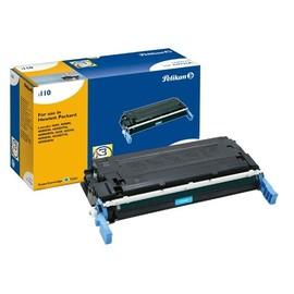 Toner Gr. 1110 (C9721A) für Color LaserJet 4600/4610/4650 8000Seiten cyan Pelikan 623768 Produktbild