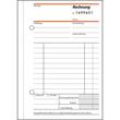 Rechnungsbuch A6 hoch 2x50Blatt mit fortlaufender Nummerierung selbstdurchschreibend Sigel SD133 Produktbild Additional View 2 S