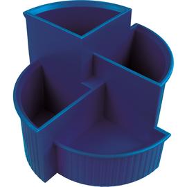 Multiköcher Linear Durchmesser 140mm/H 100mm blau Kunststoff Helit H6390634 Produktbild
