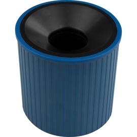 Klammernspender Linear ø 72mm x 73mm blau magnetisch Helit H6390834 Produktbild