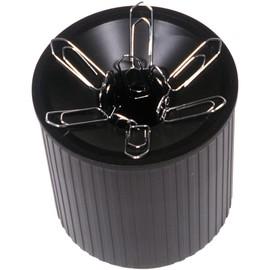 Klammernspender Linear ø 72mm x 73mm schwarz magnetisch Helit H6390895 Produktbild