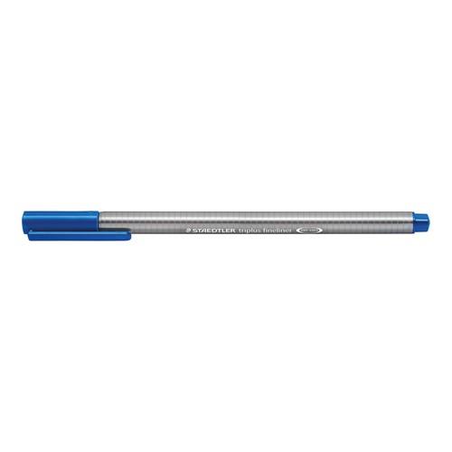 Fineliner Triplus 334 0,3mm Dreikant blau Staedtler 334-3 Produktbild