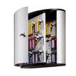 Schlüsselkasten Key Box 36 mit Schloss für 36 Schlüsselanhänger 280x302x118mm metallic silber Aluminium Durable Produktbild Additional View 1 S