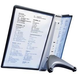 Sichttafeltischständer SHERPA SOHO 5 inkl. 5 Sichttafeln Durable 5540-00 Produktbild