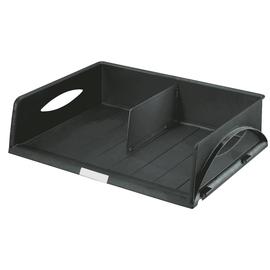 Briefkorb Sorty Jumbo für A3/C3 472x110x355mm schwarz Kunststoff Leitz 5232-00-95 Produktbild