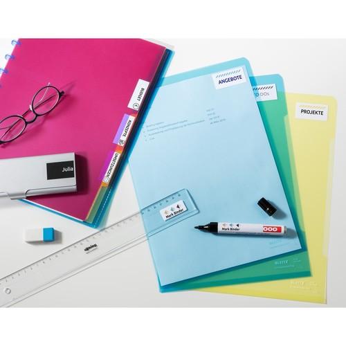 Etiketten Inkjet+Laser+Kopier 38x21,2mm auf A4 Bögen weiß permanent Zweckform 6121 (PACK=1950 STÜCK) Produktbild Additional View 5 L