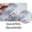 Etiketten Inkjet+Laser+Kopier 38x21,2mm auf A4 Bögen weiß permanent Zweckform 6121 (PACK=1950 STÜCK) Produktbild Additional View 8 S