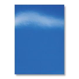 Einbanddeckel HiGloss A4 250g blau glänzend GBC CE020020 (PACK=100 STÜCK) Produktbild