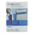 Einbanddeckel PolyClearView A4 300µ transparent matt GBC IB386848 (PACK=100 STÜCK) Produktbild