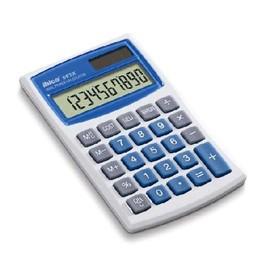 Taschenrechner 10-stelliges LCD-Display 082X 112x68x15mm Solar-/Batteriebetrieb Ibico IB410017 Produktbild