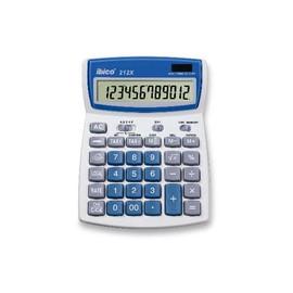 Taschenrechner 12-stelliges LCD-Display 212X 140x190x32mm Solar-/Batteriebetrieb Ibico IB410086 Produktbild