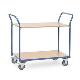Tischwagen 1000x600mm Ladefläche 200kg Tragkraft Fetra 1602 Produktbild