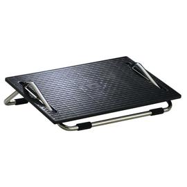 Fußstütze Ergoswing Trittfläche 475x300mm höhenverstellbar chrom/schwarz Wedo 275201 Produktbild