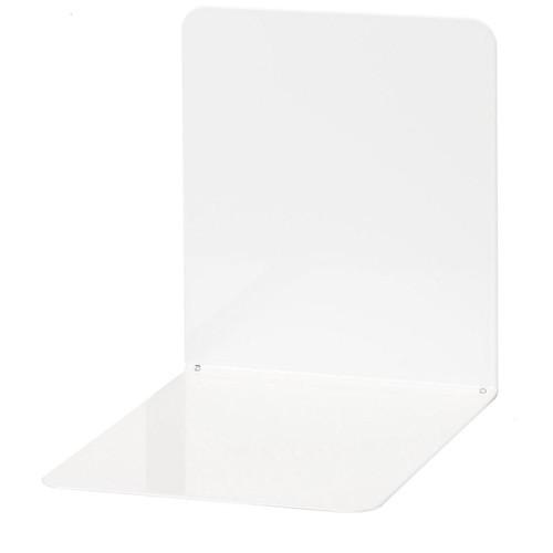 Buchstütze 140x120x140mm weiß Metall Wedo 1021100 (PACK=2 STÜCK) Produktbild Front View L