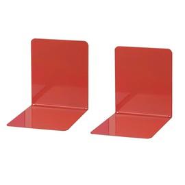 Buchstütze 140x120x140mm rot Metall Wedo 1021102 (PACK=2 STÜCK) Produktbild
