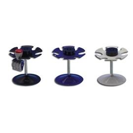 Stempelträger rund für 6Stempel Durchmesser 10,8cm, H 10,0cm schwarz Metall Wedo 64601 Produktbild