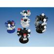 Stempelträger rund für 16Stempel 2Etagen Durchmesser 12,0cm, H 18,0cm schwarz Metall Wedo 641601 Produktbild Additional View 1 S