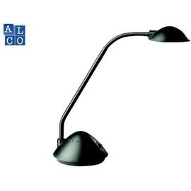 Schreibtischleuchte mit flexiblem Arm schwarz ALCO 954 Produktbild