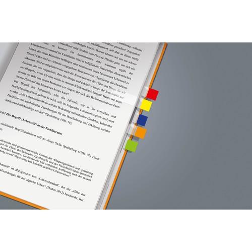 Haftmarker Pergament Mini 50x12mm 7 Farben transparent Sigel HN677 (PACK=7x 40 STÜCK) Produktbild Additional View 1 L