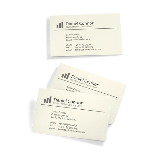Visitenkarten Inkjet+Laser+Kopier 85x55mm 225g vanille glatte Kanten Sigel DP796 (PACK=100 STÜCK) Produktbild Additional View 5 L