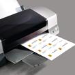 Visitenkarten Inkjet+Laser+Kopier 85x55mm 225g vanille glatte Kanten Sigel DP796 (PACK=100 STÜCK) Produktbild