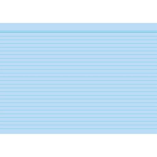 Karteikarten A8 liniert farbig sortiert holzfrei RNK 11508 (PACK=100 STÜCK) Produktbild Additional View 2 L