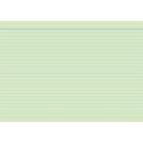 Karteikarten A8 liniert farbig sortiert holzfrei RNK 11508 (PACK=100 STÜCK) Produktbild Additional View 3 L