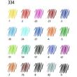 Fineliner Triplus 334 0,3mm Dreikant grün Staedtler 334-5 Produktbild Additional View 3 S