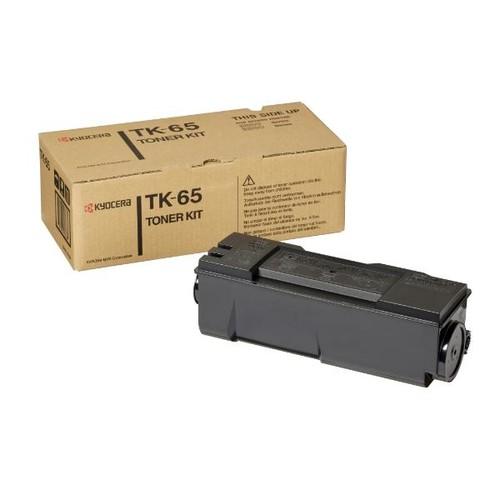 Toner TK-65 für FS3820/FS3830 20000Seiten schwarz Kyocera 370QD0KX Produktbild Front View L