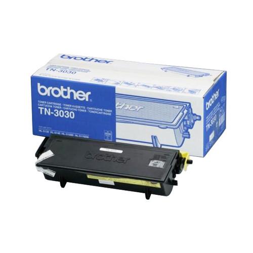 Toner für HL-5130/5140/DCP-8040/8045 3500Seiten schwarz Brother TN-3030 Produktbild Front View L