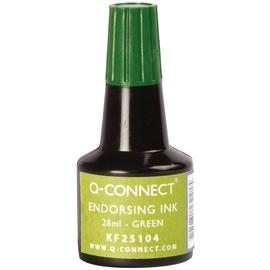 Stempelfarbe ohne Öl für Gummistempel 30ml grün BestStandard KF25104 (FL=30 MILLILITER) Produktbild