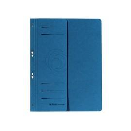 Ösenhefter 1/2 Vorderdeckel kaufmännische Heftung 238x305mm blau Karton Herlitz 10836997 Produktbild