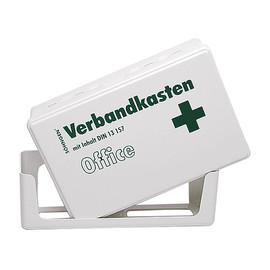 Erste-Hilfe-Verbandskasten 26x16x7cm weiß gefüllt nach DIN 13157 Söhngen 3003056 Produktbild