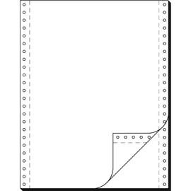 """Endlospapier 12""""x240mm 52g weiß blanko 2-fach selbstdurchschreibend Sigel 91200 (KTN=1000 SÄTZE) Produktbild"""