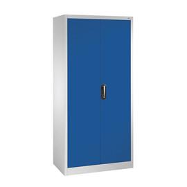 Flügeltürenschrank Korpus lichtgrau Türen enzianblau C+P 9260-000-7035-5010 Produktbild
