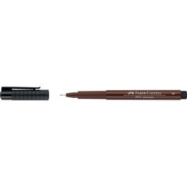 Tuschestift PITT ARTIST PEN 0,3mm superfein sepia Faber Castell 167175 Produktbild