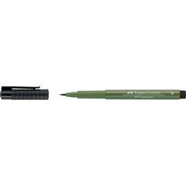 Tuschestift PITT ARTIST PEN 1,0mm breit chromoxydgrün stumpf Faber Castell 167476 Produktbild
