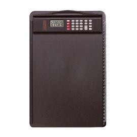 Klemmbrett mit abnehmbarem Rechner A4 schwarz Alassio 0085 Produktbild