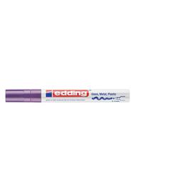 Lackmarker 750 Glanzlack Marker 2-4mm Rundspitze violett Edding 4-750-9-008 Produktbild